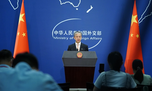 Wang Wenbin, spokesperson of China's Foreign Ministry Photo: VCG