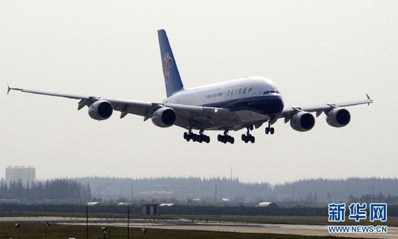 China Southern Airlines file photo: Xinhua