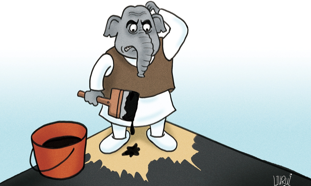 What next for India? Illustration: Liu Rui/GT