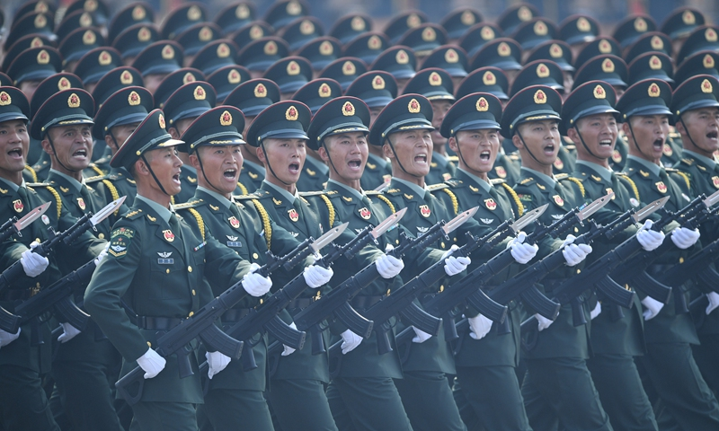 PLA to strengthen combat readiness as US calls China strategic threat -  Global Times