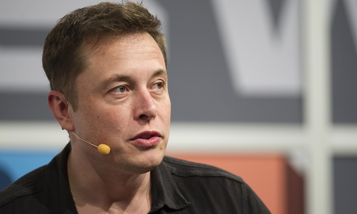 Elon Musk. Photo: VCG