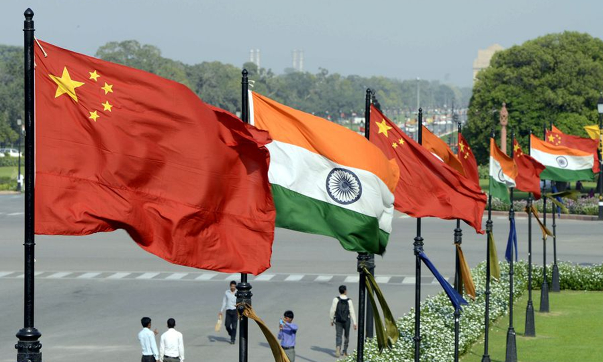 China India Photo: Xinhua