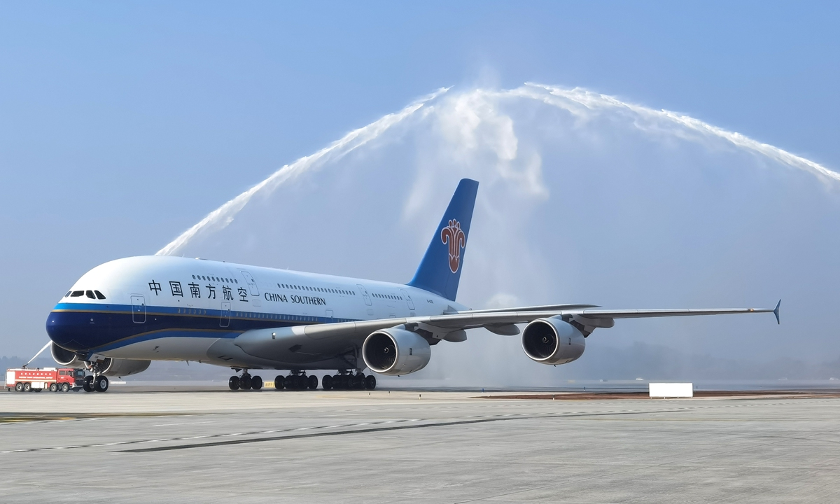 Photo: Courtesy of China Southern Airlines