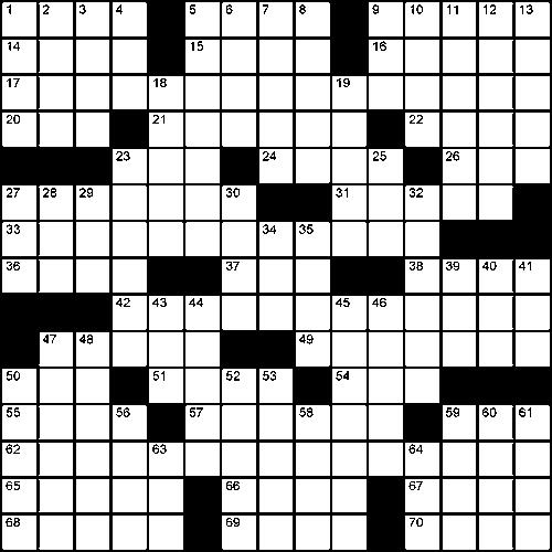 Crossword For Teabreak Global Times