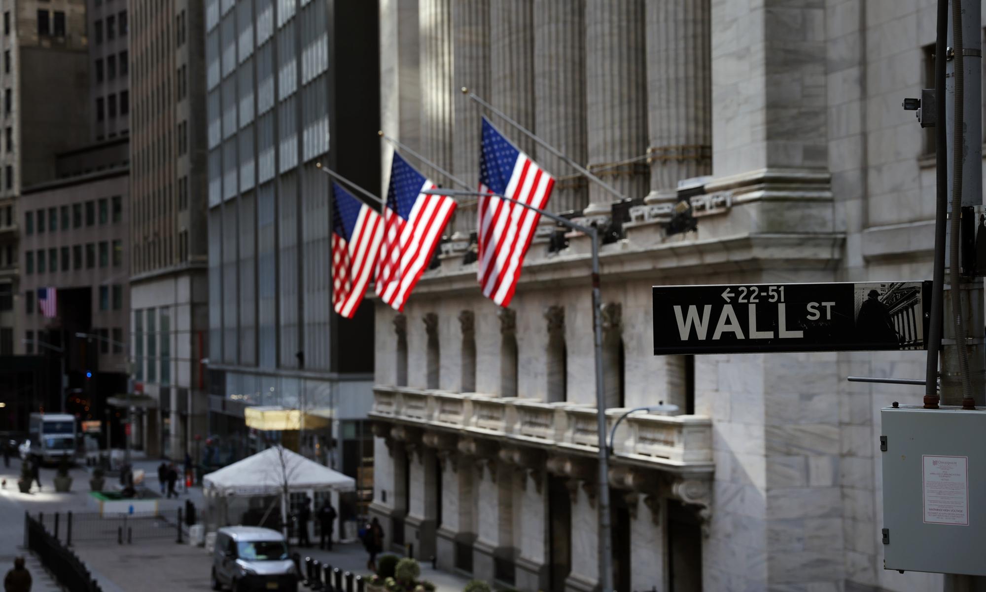 Wall Street Photo: AFP