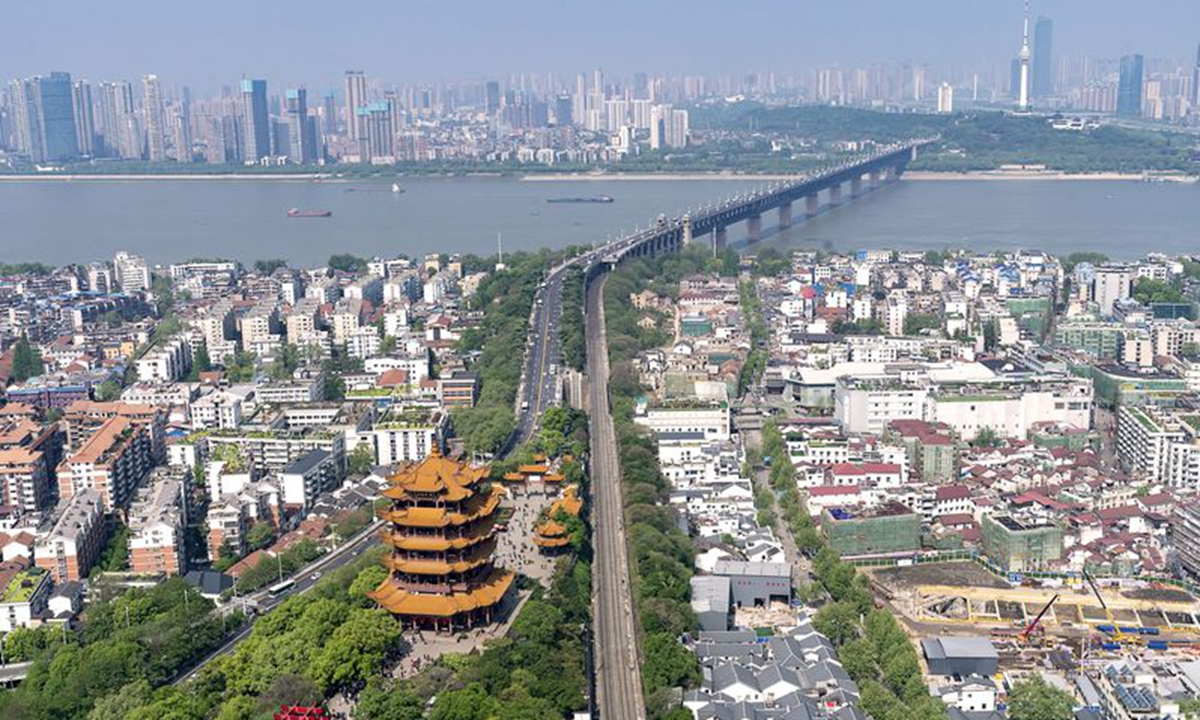 A view of Wuhan, central China's Hubei Province (Xinhua/Xiong Qi)