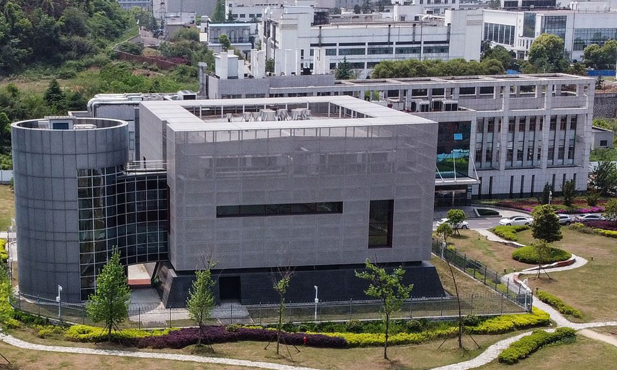 Wuhan Institute of Virology file photo:VCG