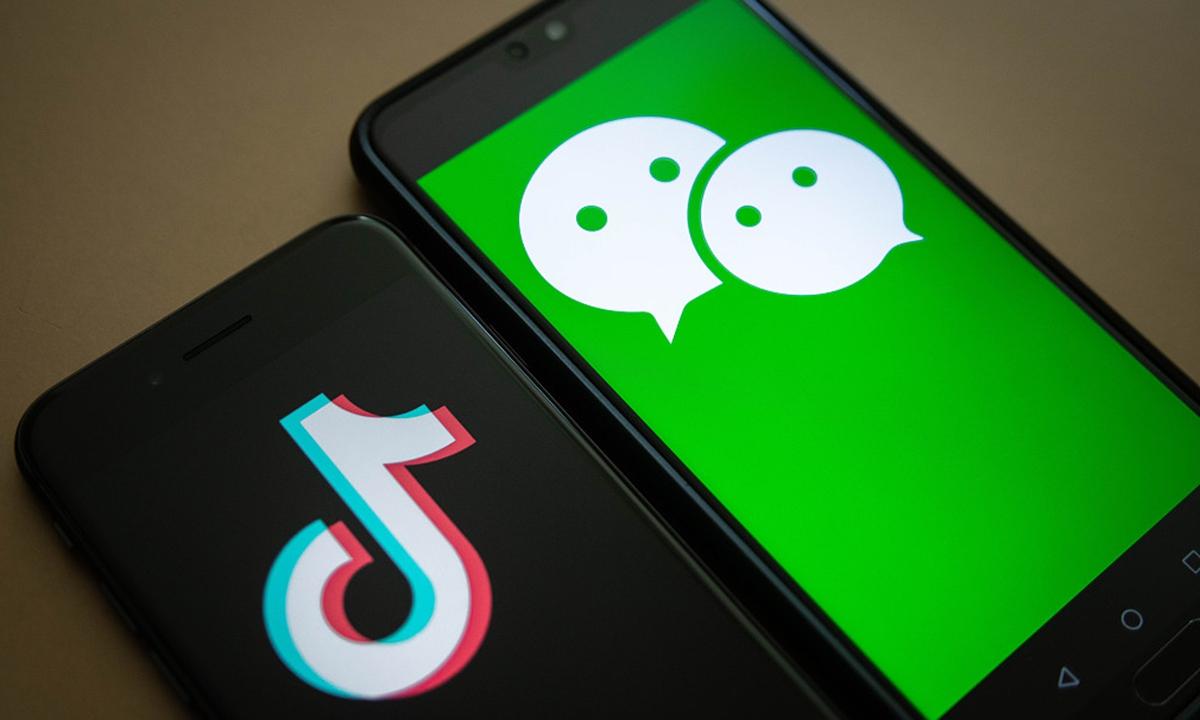 WeChat Tiktok Photo:VCG