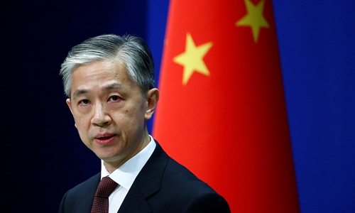 Chinese Foreign Ministry spokesperson Wang Wenbin. Photo: VCG