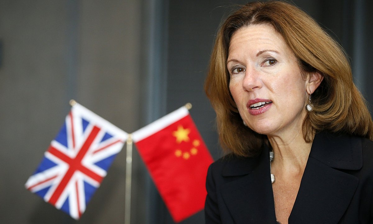 Caroline Wilson, UK ambassador to China. Photo: VCG