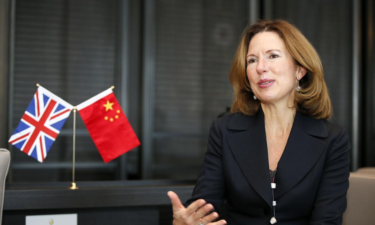 Caroline Wilson, UK ambassador to China. Photo: VCG