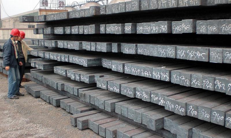 Steel billets Photo: CFP