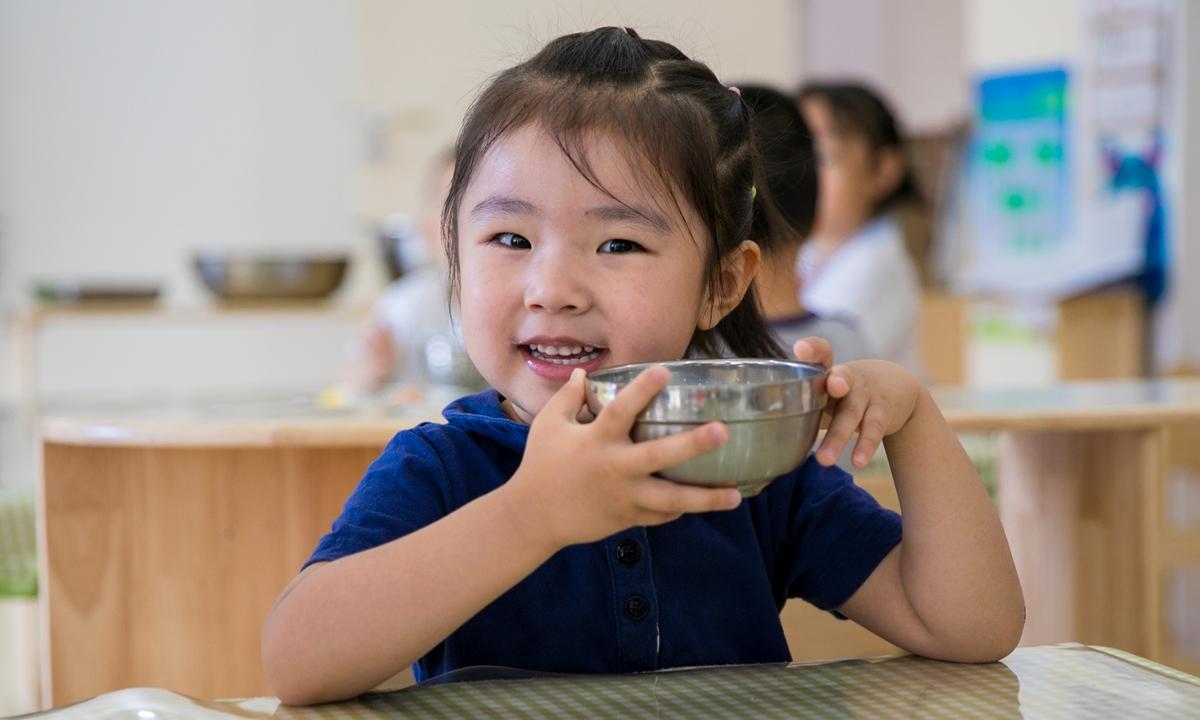 Kindergarten kids Photo: VCG