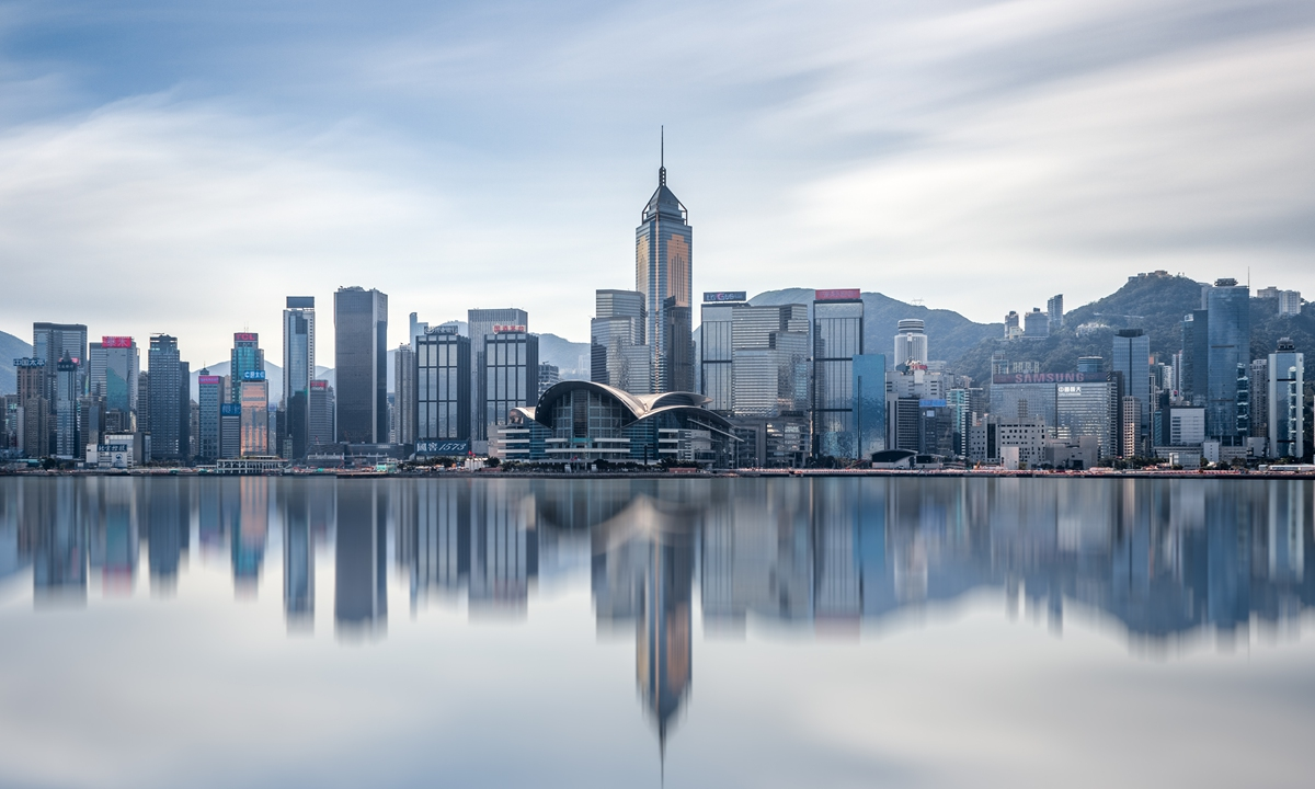 Skyscrapers in Hong Kong Photo: VCG