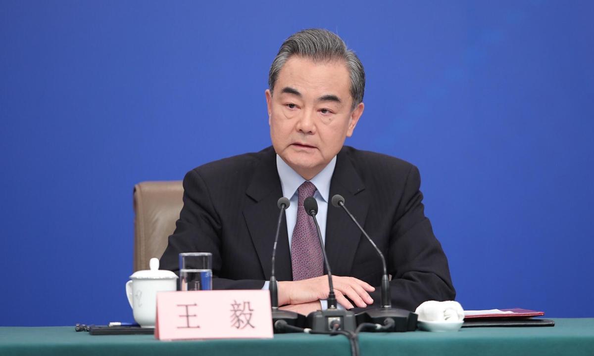 Wang Yi File photo