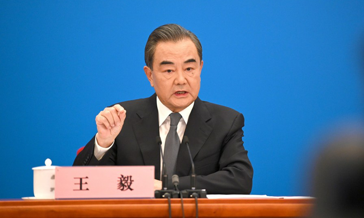 Chinese State Councilor and Foreign Minister Wang Yi. Photo: Xinhua