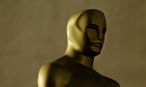 An Oscar statuette Photo: IC