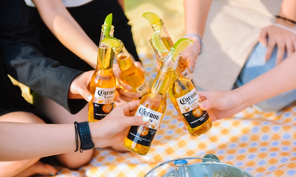 Corona delivers an authentic beach lifestyle. Photo: Courtesy of AB InBev