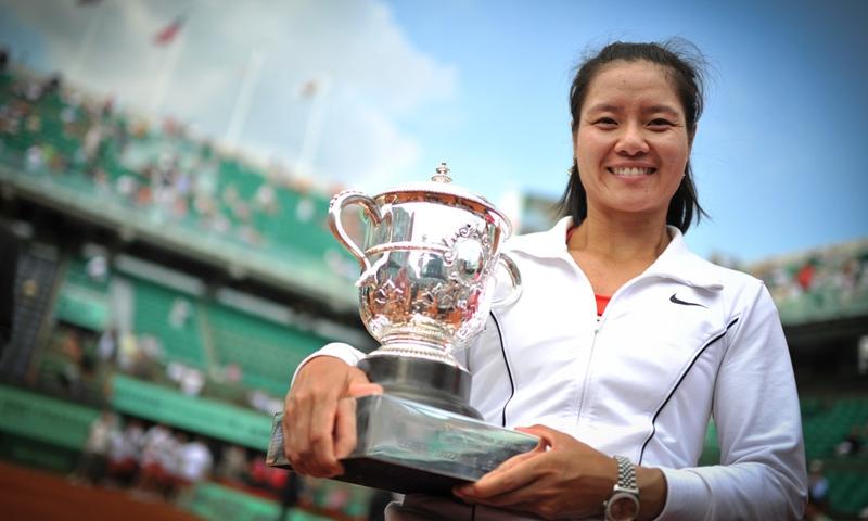 Chinese retired tennis player Li Na Photo: IC