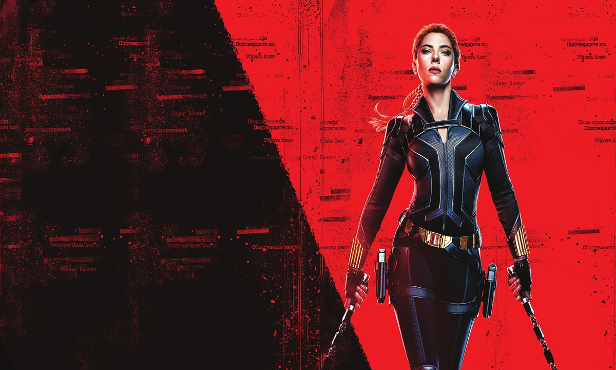 Scarlett Johansson in Black Widow Photo: VCG