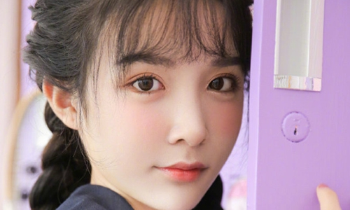 A photo of Abbily. Photo: Sina Weibo