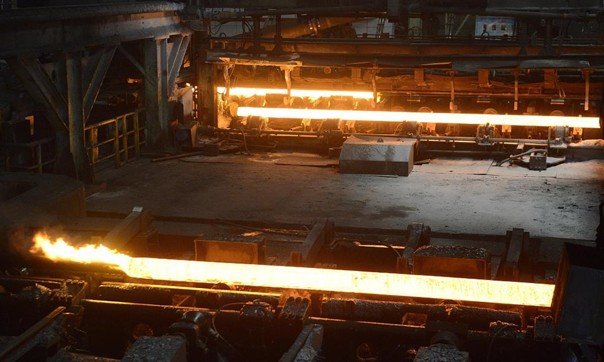 Worker at Chinese steel giant jumps into furnace after stock losses -  Global Times