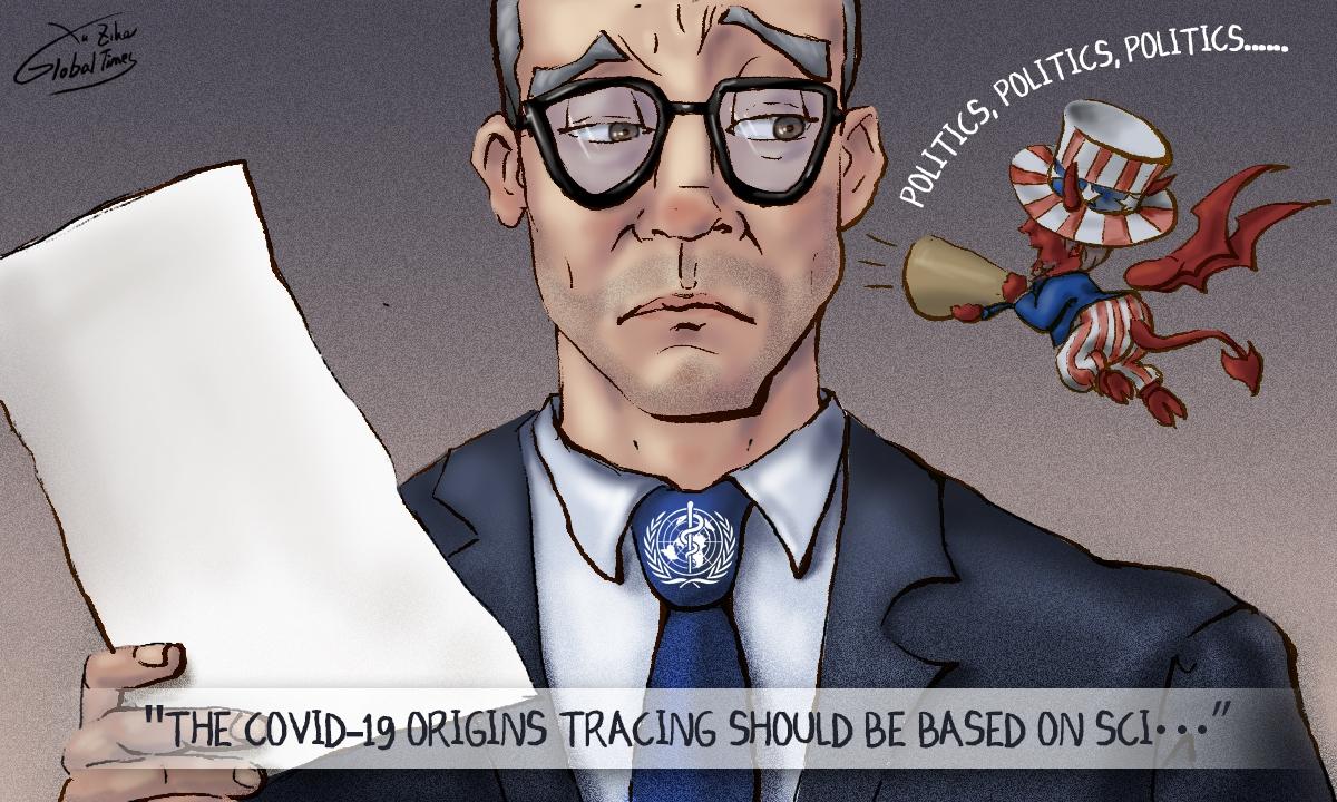 GTCartoon: Science VS Politics  #COVID19 #WHO