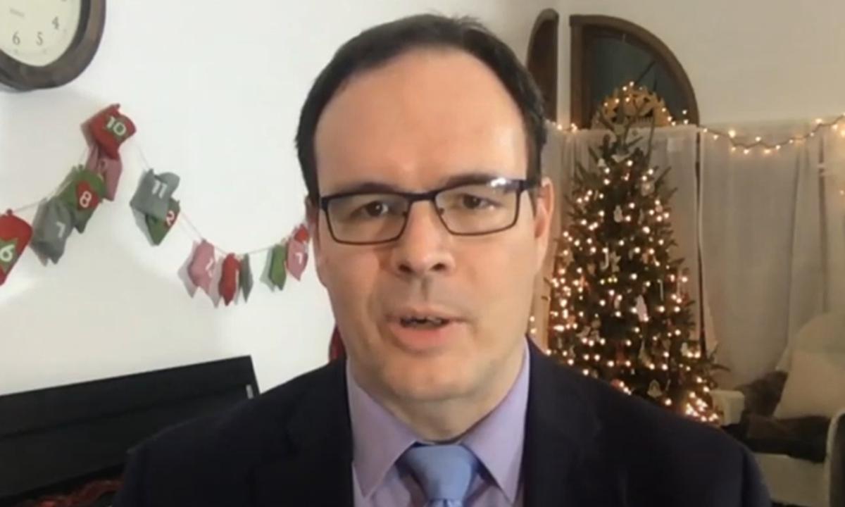 Adrian Zenz Photo: Screenshot of an online video