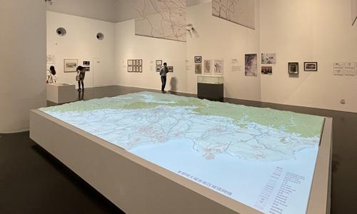 The exhibition. Photo: Courtesy for Tsinghua University