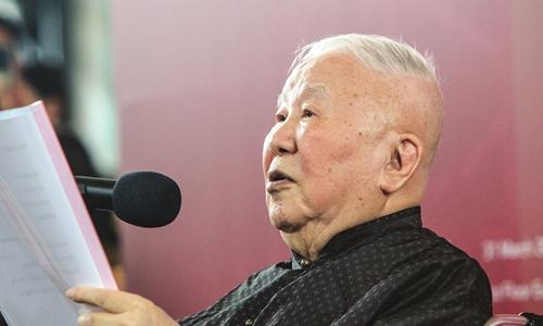 Wu Liangyong Photo: Courtesy for Tsinghua University