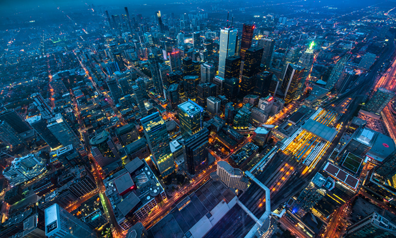 The Toronto financial District. File photo: VCG