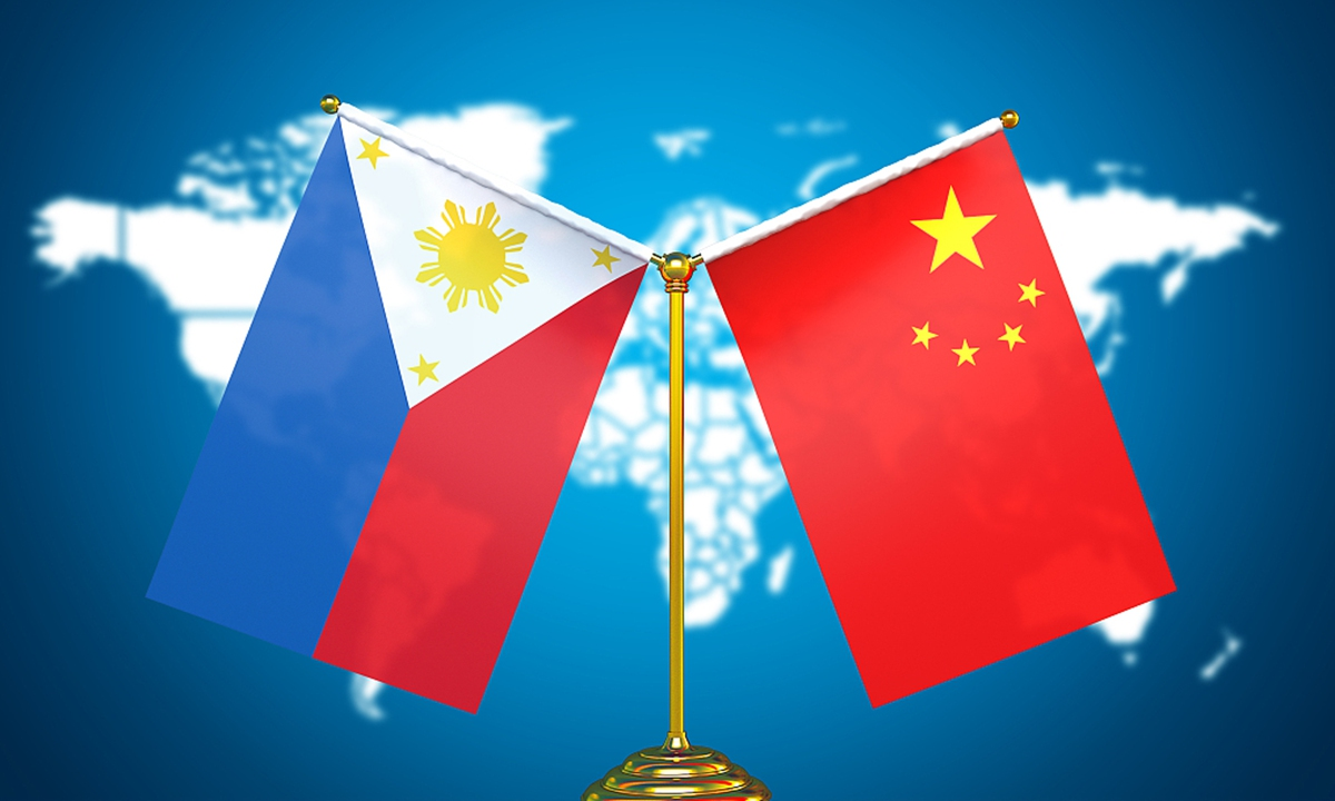 China and the Philippines Photo: VCG