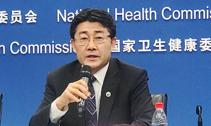 Gao Fu, director of the Chinese Center for Disease Control and Prevention Photo: China.org.cn
