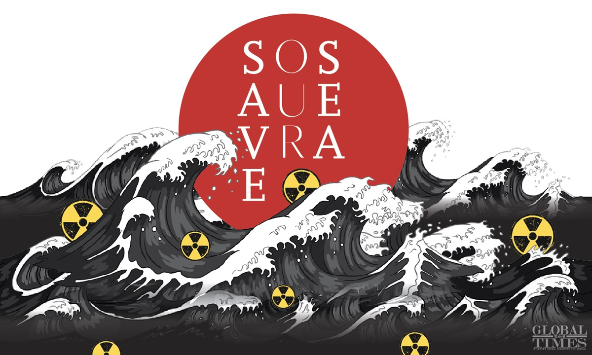 SOS, Save Our Sea. Graphic: Xiong Xiaoying/GT