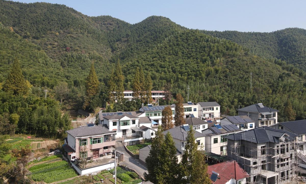 A view of Yucun village.  Photo: Lu Ting/GT