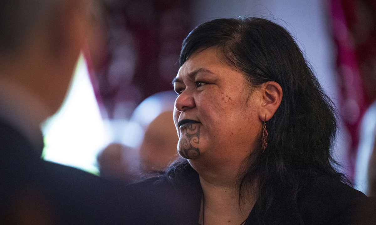 New Zealand's Foreign Minister Nanaia Mahuta (C) attend a cabinet meeting at the Parliament House in Wellington on November 6, 2020. Photo: AFP