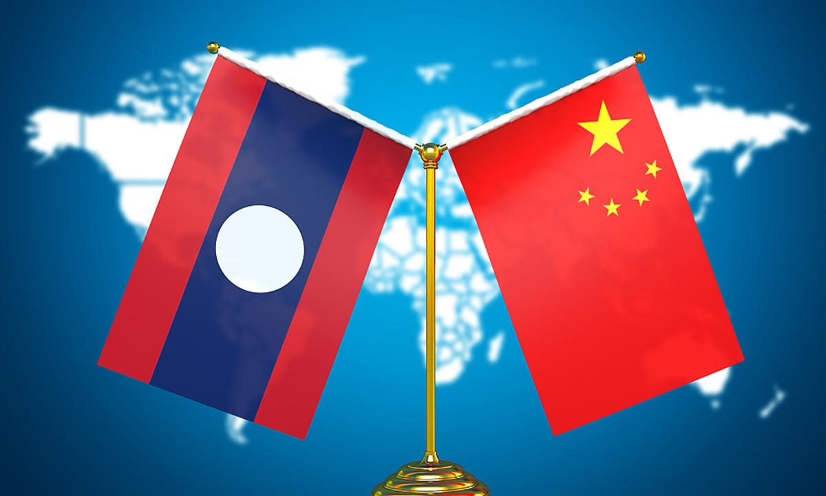 China and Lao Photo: VCG