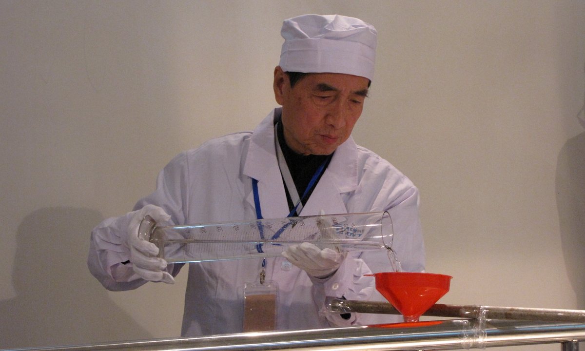Zhou Yongmao, nuclear engineering academician at the Chinese Academy of Engineering Photo: Courtesy of Zhou Yongmao