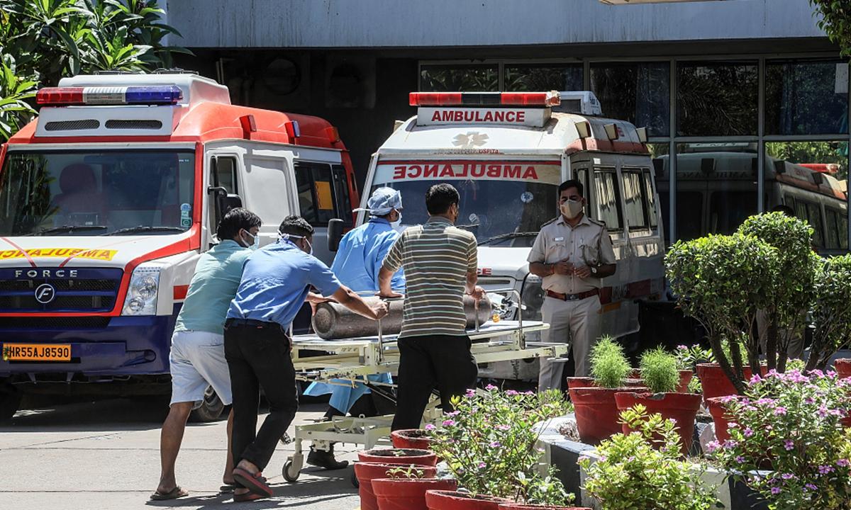 India epidemic Photo: VCG