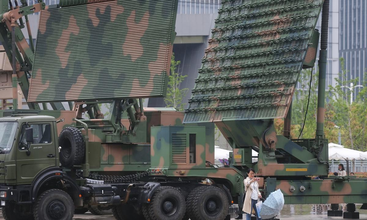 radar military Photo:Cui Meng/GT