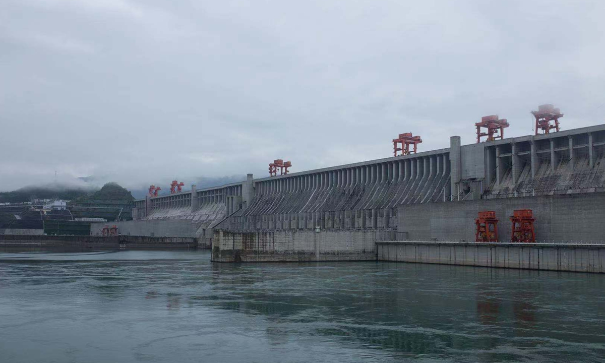 The open day of the Three Gorges Dam