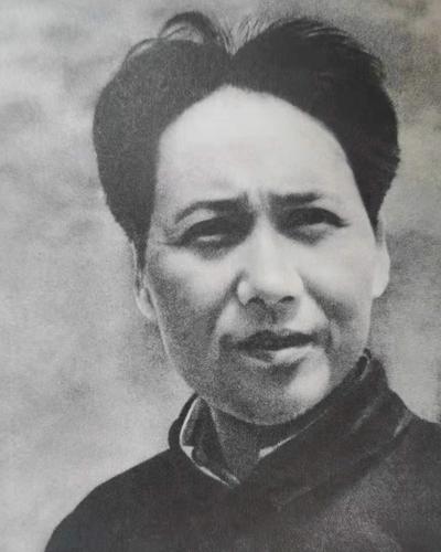Mao Zedong in Yan'an in 193