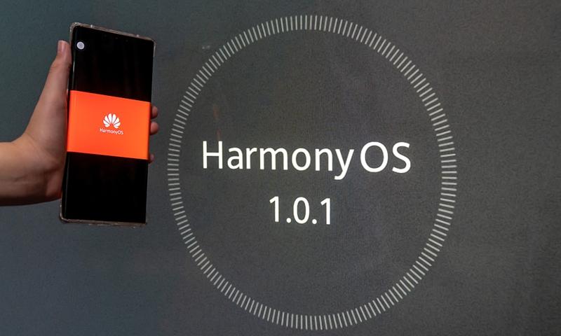 Huawei HarmonyOS Photo: VCG