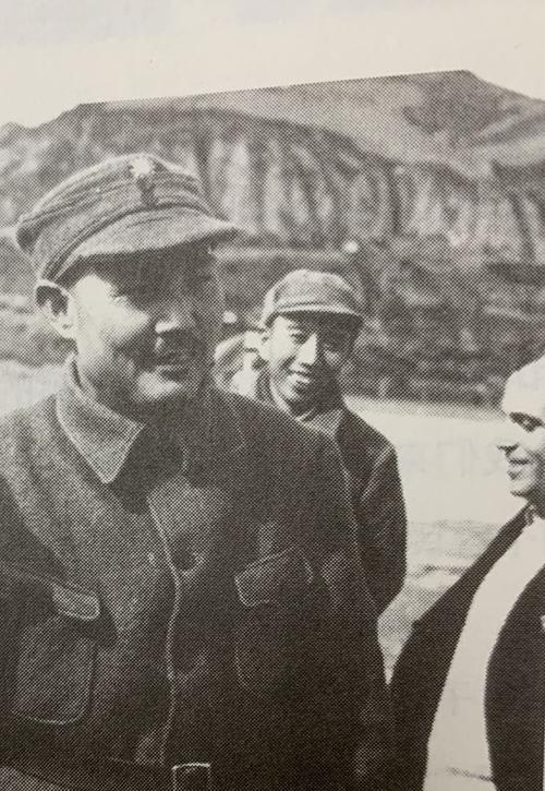 Epstein with Ye Jianying and Wang Zhen