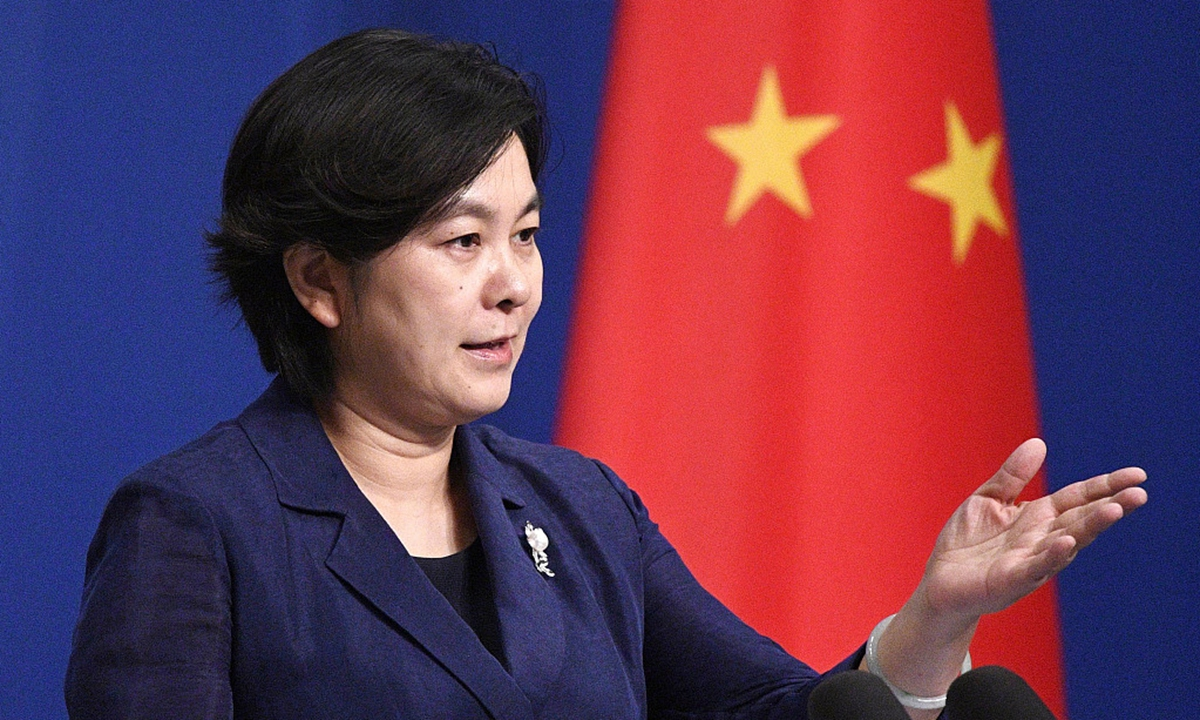 Chinese Foreign Ministry spokesperson Hua Chunying. Photo: VCG