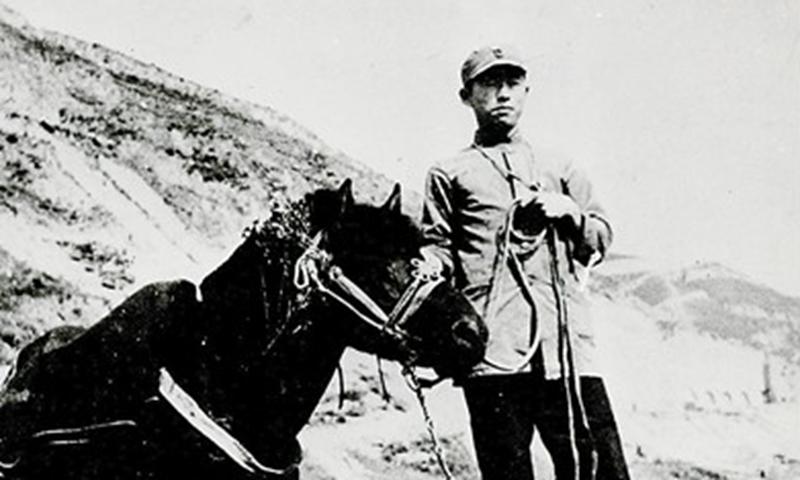 Zheng Lvcheng in Yan'an
