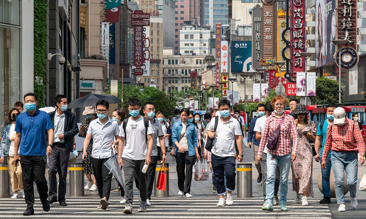 China's population. Photo: VCG