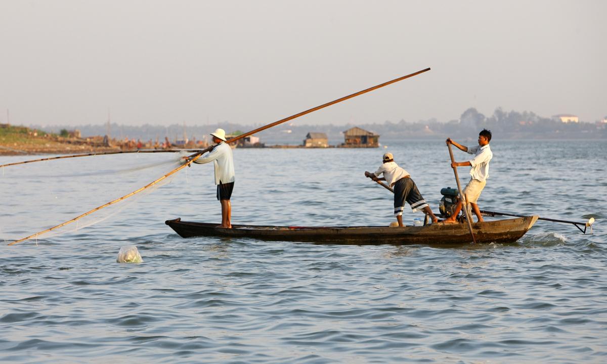 Fishing boat on the Mekong River Photo: VCG
