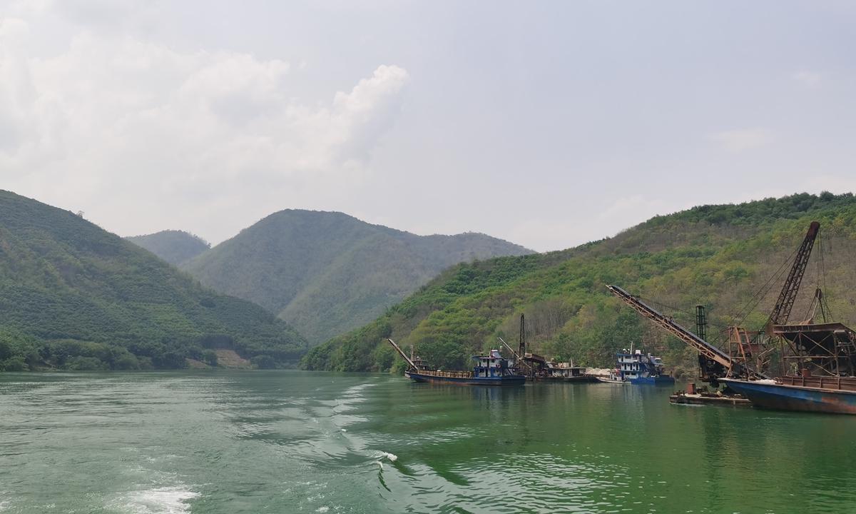 The Lancang River in China  Photo: Hu Yuwei/GT