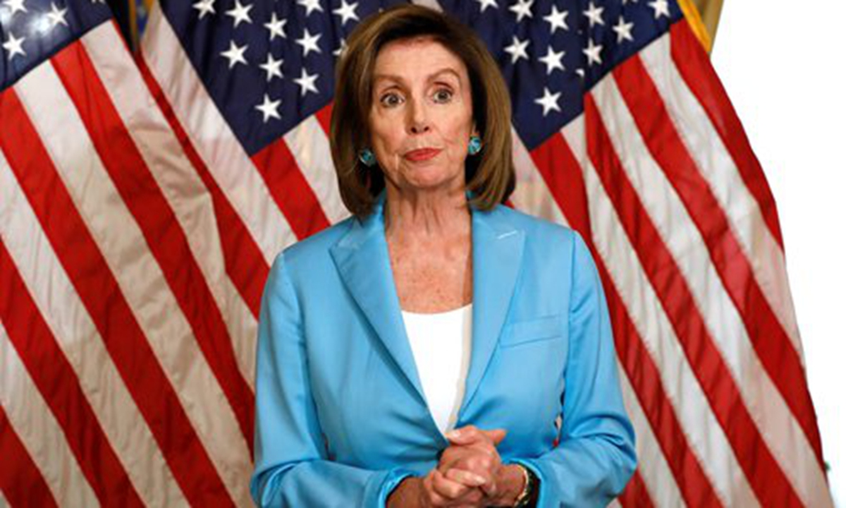 US House Speaker Nancy Pelosi. Photo: VCG